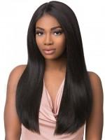 """Brasilianisches Haar """"Glatt"""" - natürliche Farbe - 100 Gramm Tresse 20 cm / 8"""""""