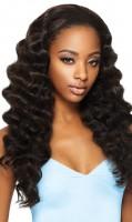 """Brasilianisches Haar """"Euro Curl"""" - natürliche Farbe - 100 Gramm Tresse 20 cm / 8"""""""