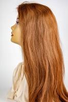 Front Lace Perücken - glatt (straight) - reines Echthaar - in verschiedenen Farben