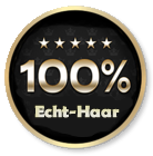 100% Echthaar (Human Hair)