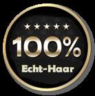 100% Echthaar (Human Hair)