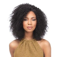 """Brasilianisches Haar """"Kinky Curl """" - natürliche Farbe - 100 Gramm Tresse 20 cm / 8"""""""