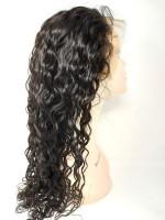 Front Lace Perücken - natural wave - natürliche Farbe