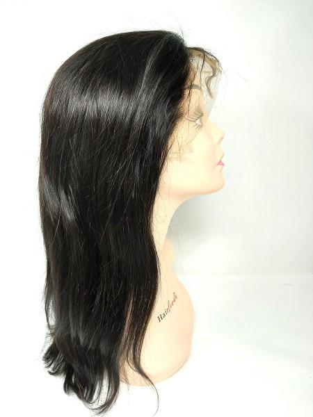 Front Lace Perücken - glatt (straight) - natürliche Farbe