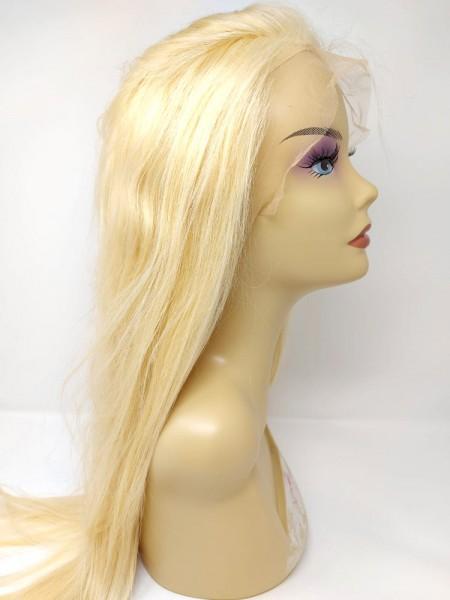 Front Lace Perücken - glatt (straight) - reines Echthaar - 180% density