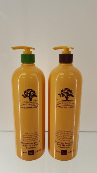 Arganmidas - Combi Shampoo und Conditoner - 1 Liter